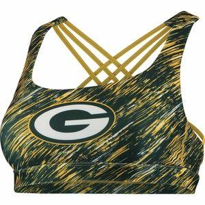 NFL Green Bay Packers Static Rain Sports Bra NWT
